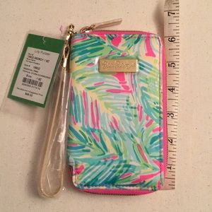 Lily Pulitzer iPhone 6 wristlet NWT